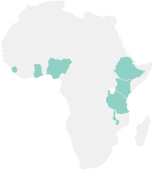 Map of Sub-Saharan Africa 1