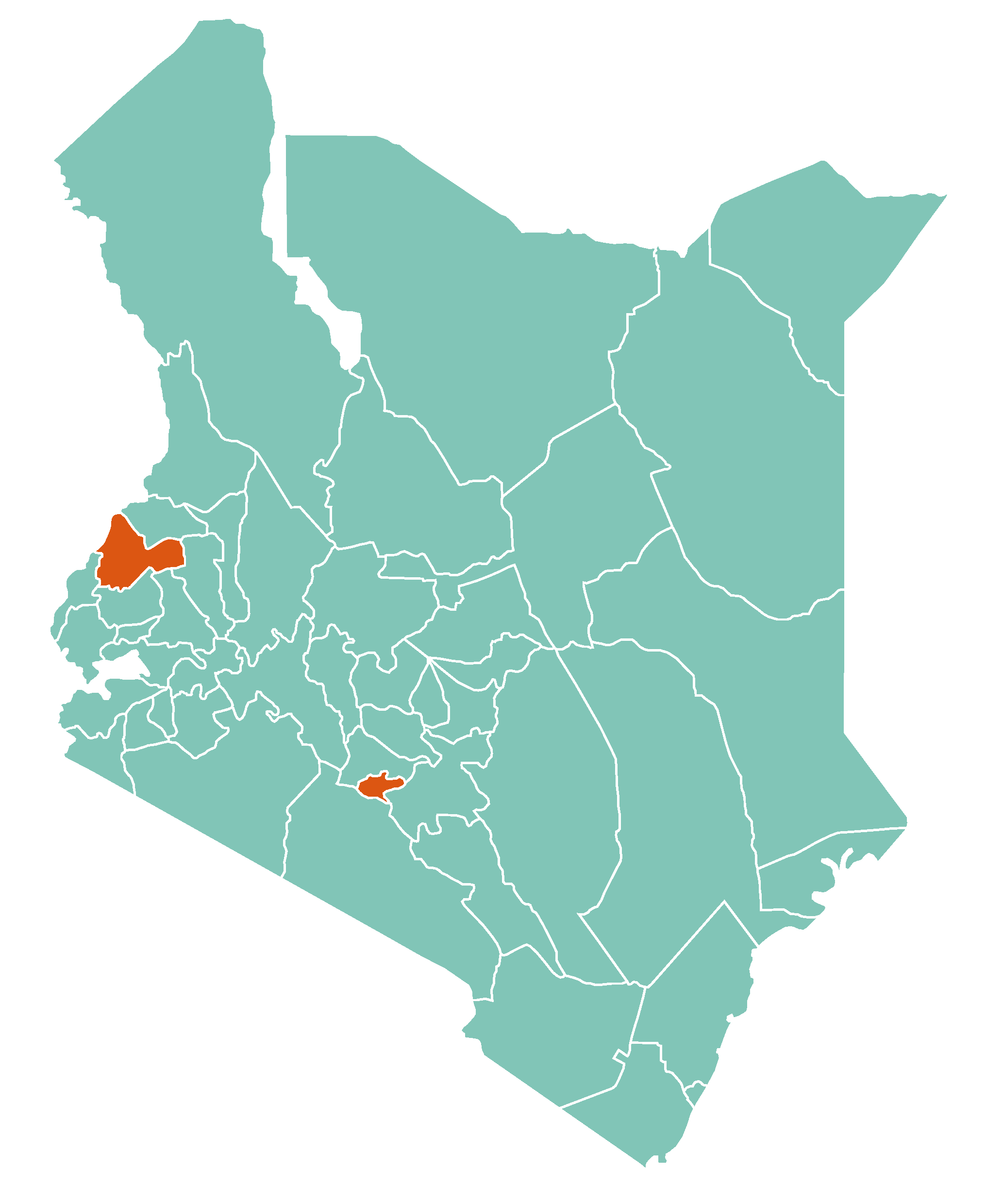 kenya counties