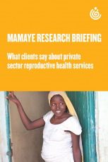 Research briefing private sector