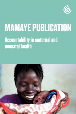 Accountability in maternal and neonatal health