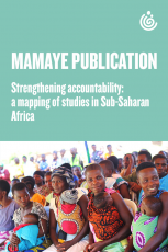 Strengthening accountability: A mapping of studies in Sub-Saharan Africa