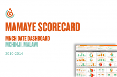 Mchinji Maternal, Newborn and Child Health Data Dashboard