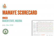 BAUCHI STATE MNCH SCORECARD JUL-DEC 2018