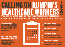 Rumphi healthcare workers