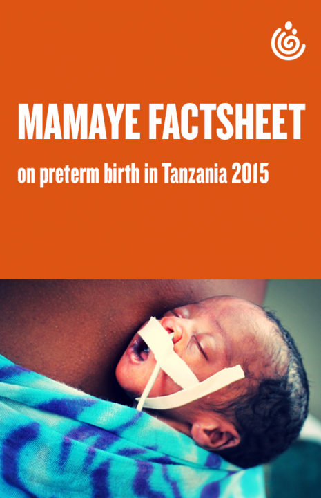 Mama Ye Factsheet on Preterm Birth in Tanzania 2015