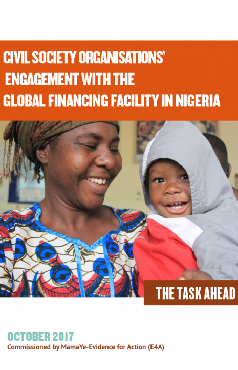 CSOs Engagement with the Global Financing Facility in Nigeria