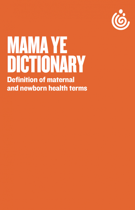 Tanzania dictionary maternal and newborn health
