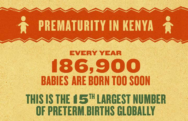Mama Ye Infographic on Prematurity in Kenya 2016