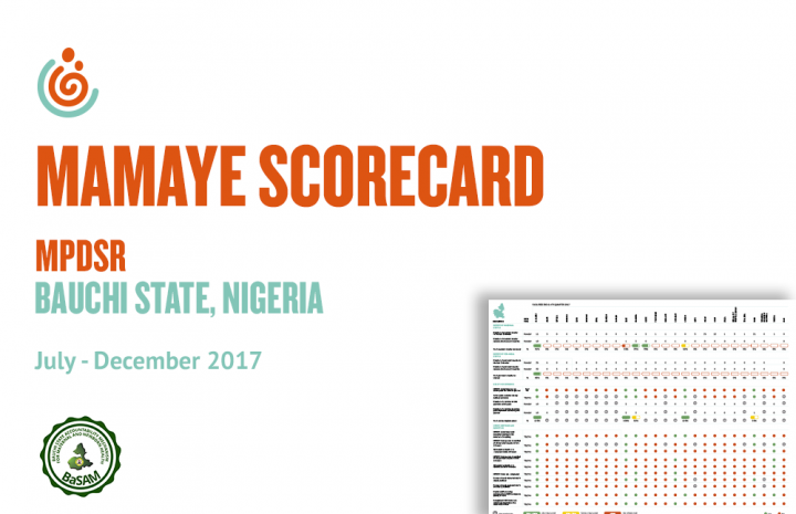 BAUCHI STATE HEALTH FACILITY MPDSR SCORECARD JUL-DEC 2017