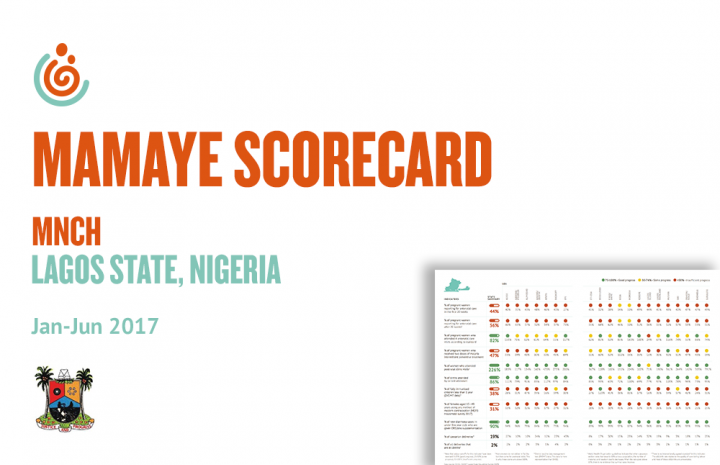 Lagos State MNCH Scorecard, Jan-Jun 2017