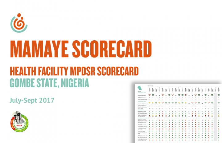 GOMBE STATE HEALTH FACILITY MPDSR SCORECARD