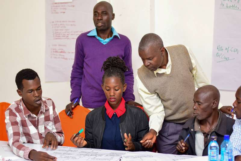 Grassroots CSOs in MNH workshop