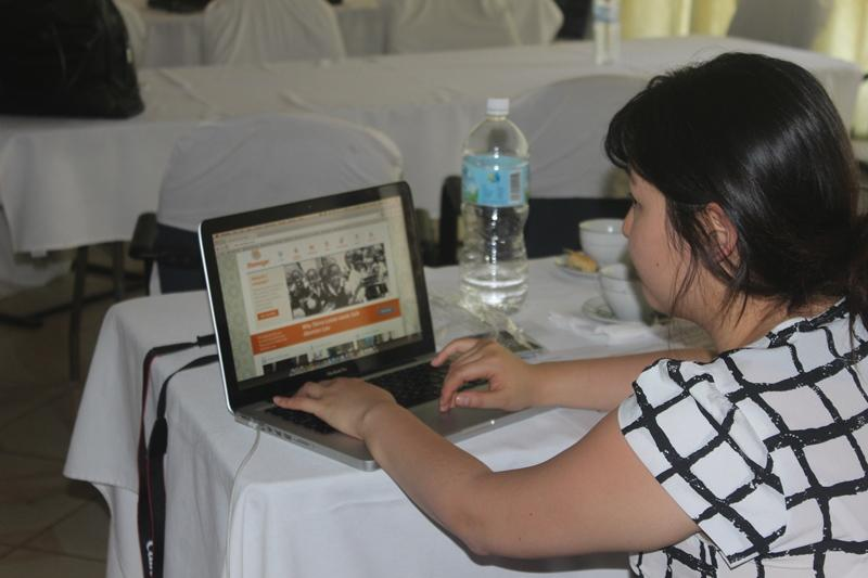 girl at the development of a national multimedia campaign for MoHS'