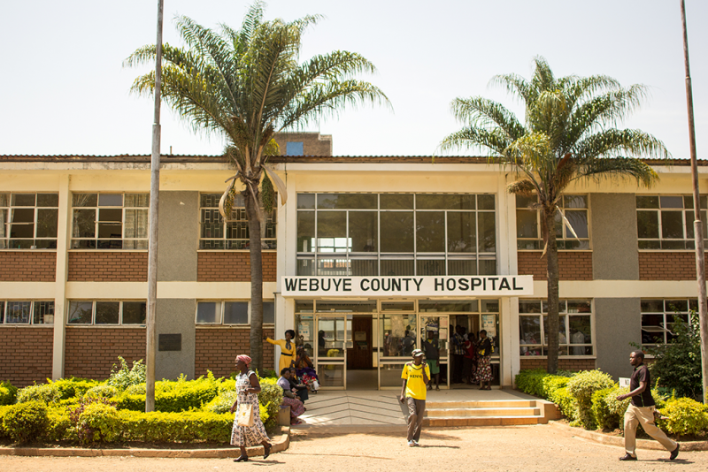 Webuye Human resources for health shortages bungoma country kenya