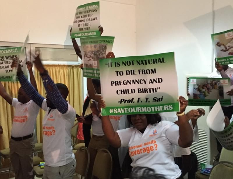 MNH Coalition stops 2015 National Health Partners Summit in Ghana