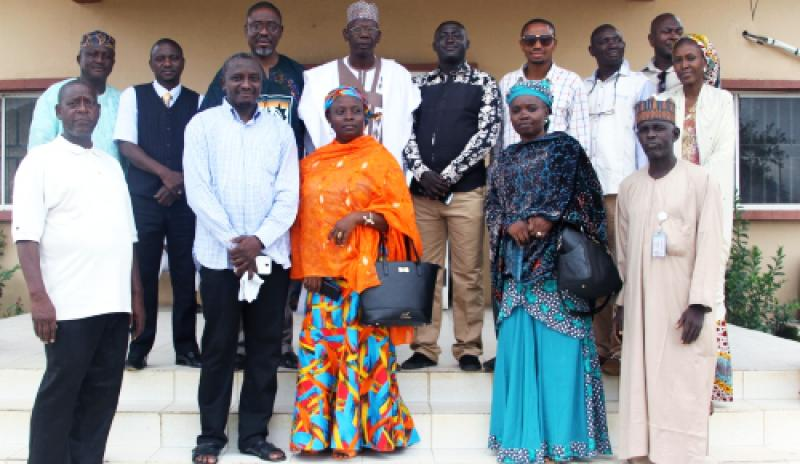 MamaYe team and journalists at Globe FM, Bauchi