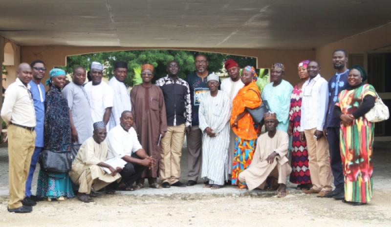 The team at Bauchi State Television