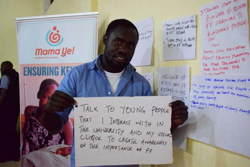 E4AMamaYe family planning champion in Kenya