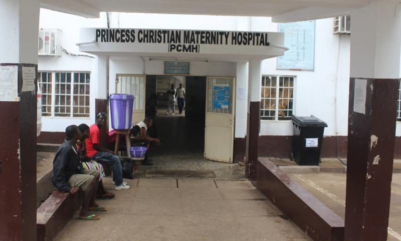 Princess Christian Maternity Hospital in Sierra Leone
