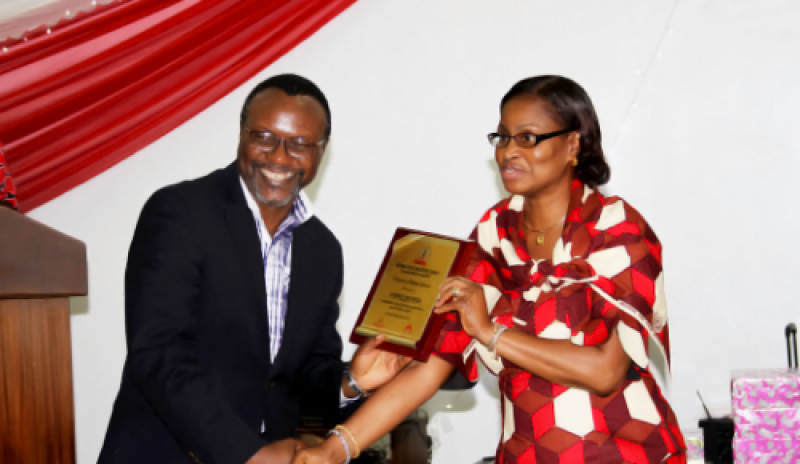 Mamaye awarded from the National Blood Transfusion Service in 2014