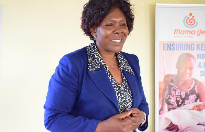 Getrude Wanyonyi, County Nurse and CHMT member, Bungoma County