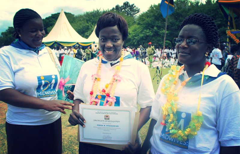 Best Performing Midwives recognised during International Day of the Midwife in Mara Region 2015