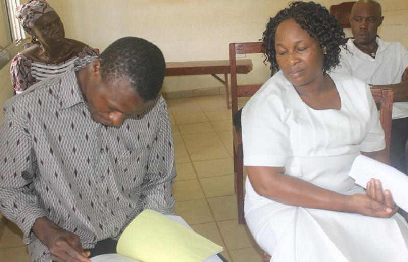 Maternal death review meeting in Sierra Leone
