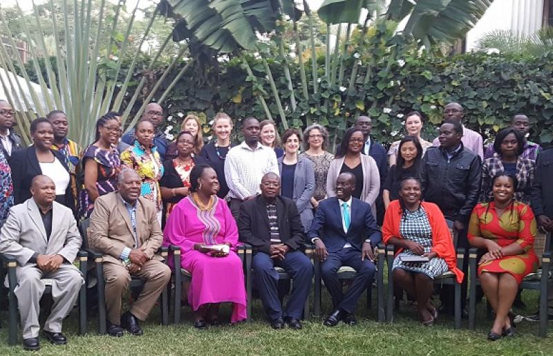 Attendees at GFF regional reception in Nairobi, 6 April 2017